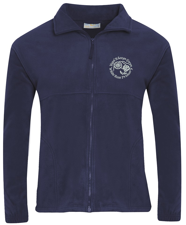 White Rose Primary Fleece Jacket
