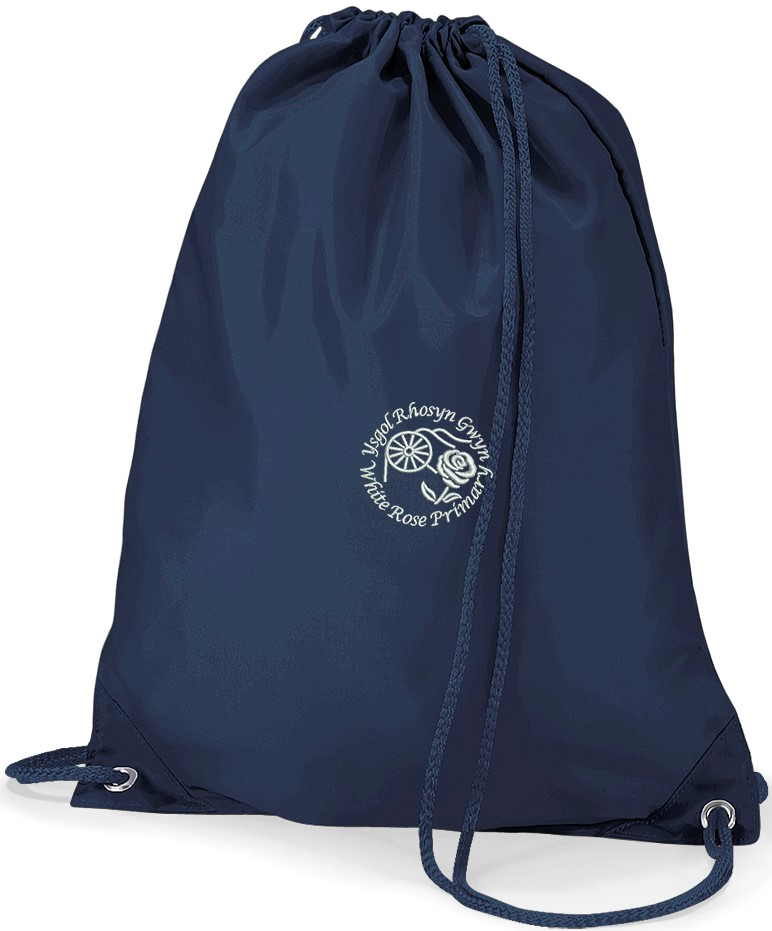 White Rose Primary Gym Bag